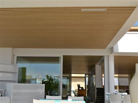 Controsoffitti Design by Modulatus Controsoffitto Esterno Collezione Woodn By Woodn