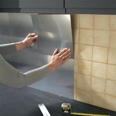 memo de cuisine mural plaque d inox pour cuisine revetement mural inox pour