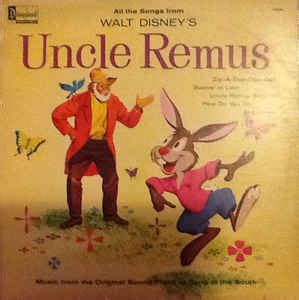 various all the songs from walt disney s remus from the original sound track of