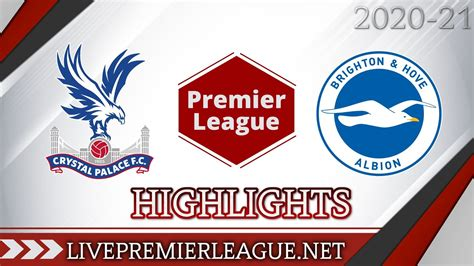 Crystal Palace 1-1 Brighton and Hove Albion Highlights ...