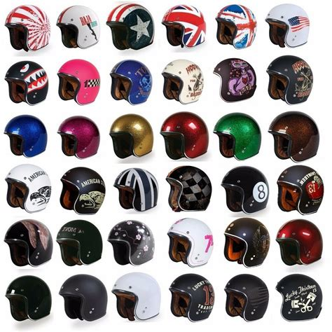 torc  open face motorcycle scooter helmet dot cafe