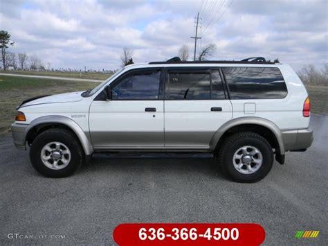 1999 Mitsubishi Montero Sport by 1999 Alpine White Mitsubishi Montero Sport Ls 61833434