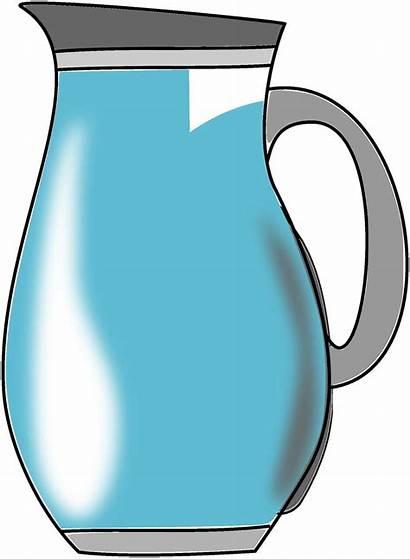 Jug Water Clipart Drawing