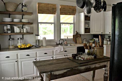 farmhouse kitchens vintage home love farmhouse table