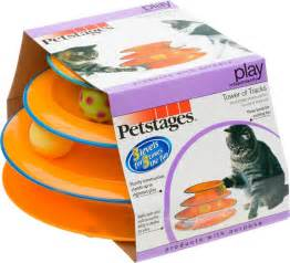 cat products petstages tower of tracks cat 10 inch chewy