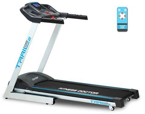 tapis de course energetics tapis de course fitness doctor trail 2 noir blanc