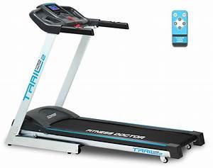 tapis de course fitness doctor trail 2 noir blanc With tapis de course avec soldes de canapés