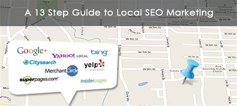 Local Seo Marketing by A 13 Step Guide To Local Seo Marketing E2m