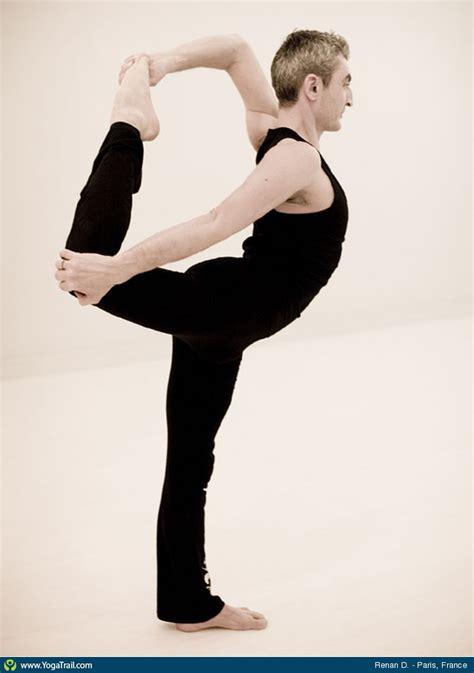 dancer pose yoga asana image  renande germain