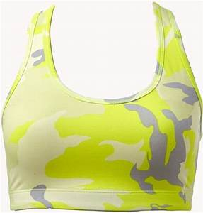 Forever 21 Medium Impact Reversible Camo Sports Bra in