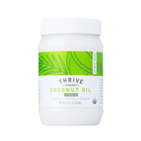 Coconut Oil Thrive Market