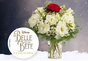 Bouquet De Fleurs Interflora : interflora partenaire film de disney la belle et la b te pr sente le bouquet ternelle le ~ Melissatoandfro.com Idées de Décoration