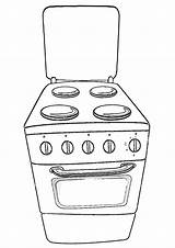 Appliances Coloring Pages Coloringway sketch template