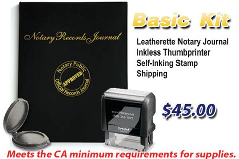 notary supplies notary journal california stamp bonds