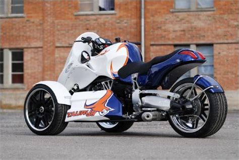 Bmw-powered Gg Taurus Trike Is Can-am Rival