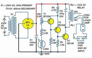 Pcb Layout Night Switch Schematic Diagram