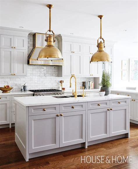 brushed nickel cabinet pulls kitchen with 12 shaker appliance panel bookshelf cabinets gray kitchen island with brass large country industrial
