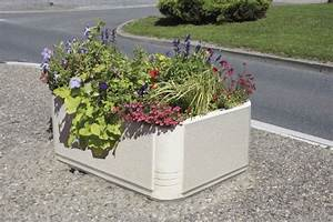 Bac A Fleur En Beton Rectangulaire : jardiniere bac a fleurs en beton ~ Edinachiropracticcenter.com Idées de Décoration