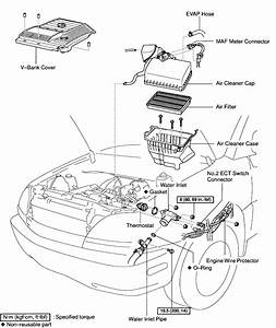 Where Is The Thermostat On A 99 Lexus Rx300
