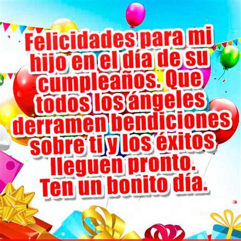 Especiales Felicitaciones Para Un Hijo En Su Cumpleaños