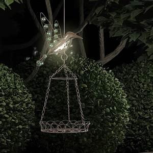 Garten Licht Solar : garten lampe led leuchte licht vogel h ngeleuchte ~ Whattoseeinmadrid.com Haus und Dekorationen