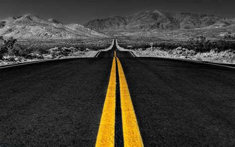 Cool Hd Image by Grayscale Nature Black Road Wallpapers Grayscale