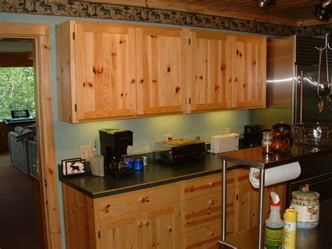 knotty pine kitchen cabinets for knotty pine shaker cabinet doors cabinets matttroy 9644