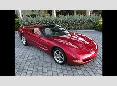 2004 Chevy Corvette Convertible Magnetic Red For Sale Auto