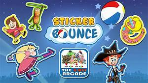 Sticker Bounce Use Your Awesome Stickers To Bounce The