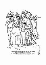 Coloring Pioneers Colony Printable Edupics Popular sketch template