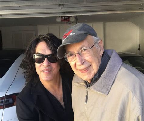 paul stanleys dad watched  kiss show hes   love