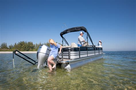 Best Pontoon Boat For Shallow Water by Pontoon Poles