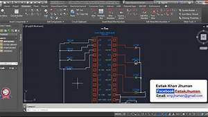 Autocad Electrical Tutorial Drawing Class 03 Full Units