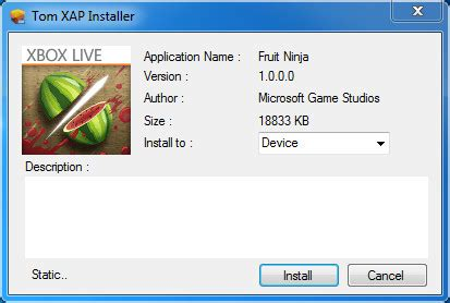 install apps to unlocked windows phone 7 with tom xap