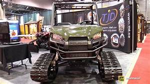 2015 Polaris Ranger 570 Efi With Tjd Track Kit