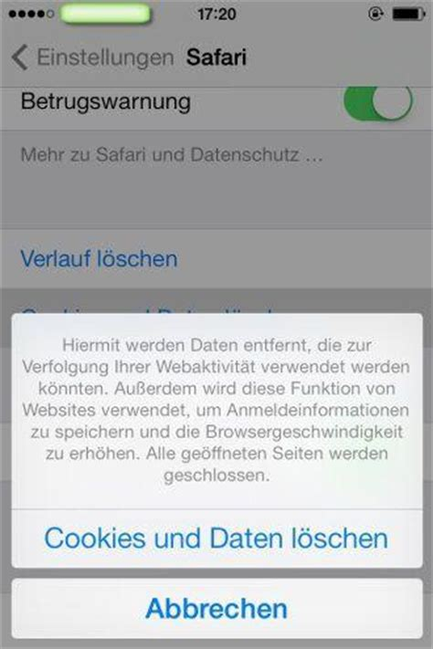 delete cookies on iphone anleitung f 252 r l 246 schung der sms fotos apps