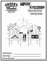 Coloring Corner Sheets sketch template