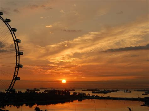 sunset singapore parks bars waterfront