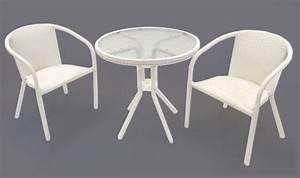 Sitzgarnitur Garten Rattan : rattan 2 er sitzgarnitur terrasse garten wei 2 st hle tisch mit glasplatte ebay ~ Indierocktalk.com Haus und Dekorationen