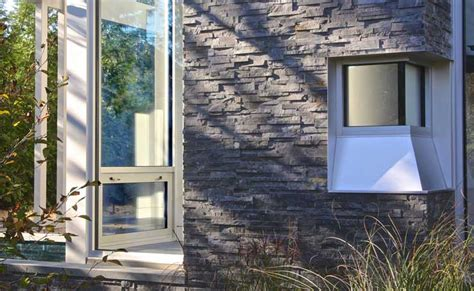 Exterior Stacked Stone Veneer Wall Cladding by Norstone