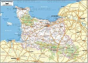 Encheres Basse Normandie : carte basse normandie carte 2018 ~ Gottalentnigeria.com Avis de Voitures