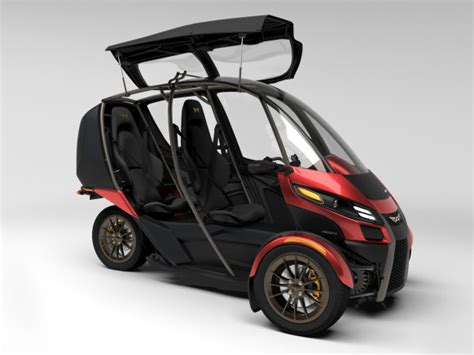 Vehicle With Three Wheels by American Engineer Managed To Decrease Price Of Ev Up To