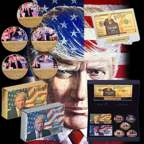 Jan 15, 2012 · about this report card. WR Gold Plated Coin Gift Box US President Trump 2020 Commemorative Metal Coin Collection ...