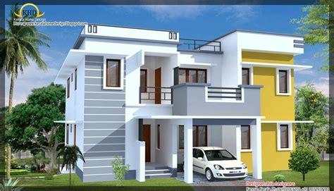 Modern style house 3d elevation - GharExpert