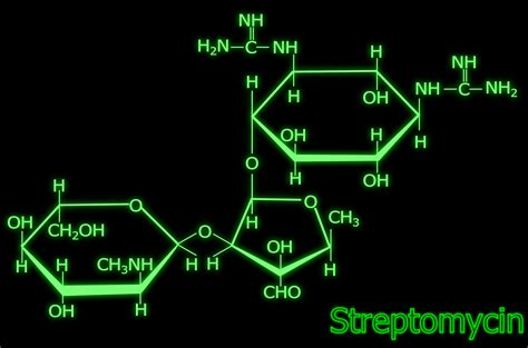 open neon sign clipart streptomycin structure