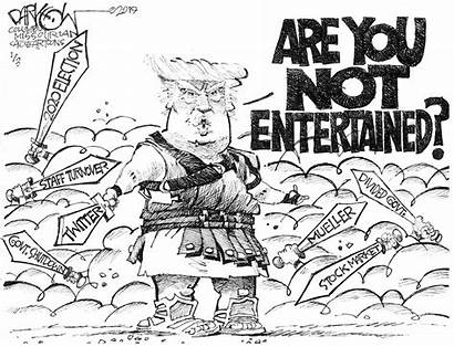 Political Cartoons Trump Cartoon Week Entertained Editorial