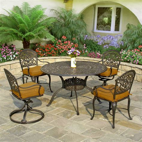 patio sets cast aluminum labadies patio furniture