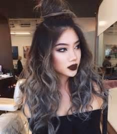 Dark Grey Hair Color