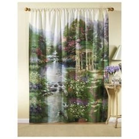 kinkade garden of prayer 169 curtains i do need new curtains but no just no irony
