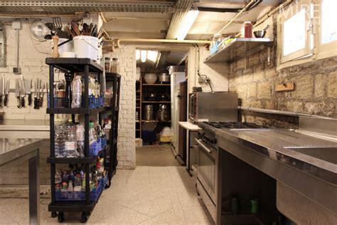 cuisine en sous sol une cuisine pro en sous sol c0591 mires